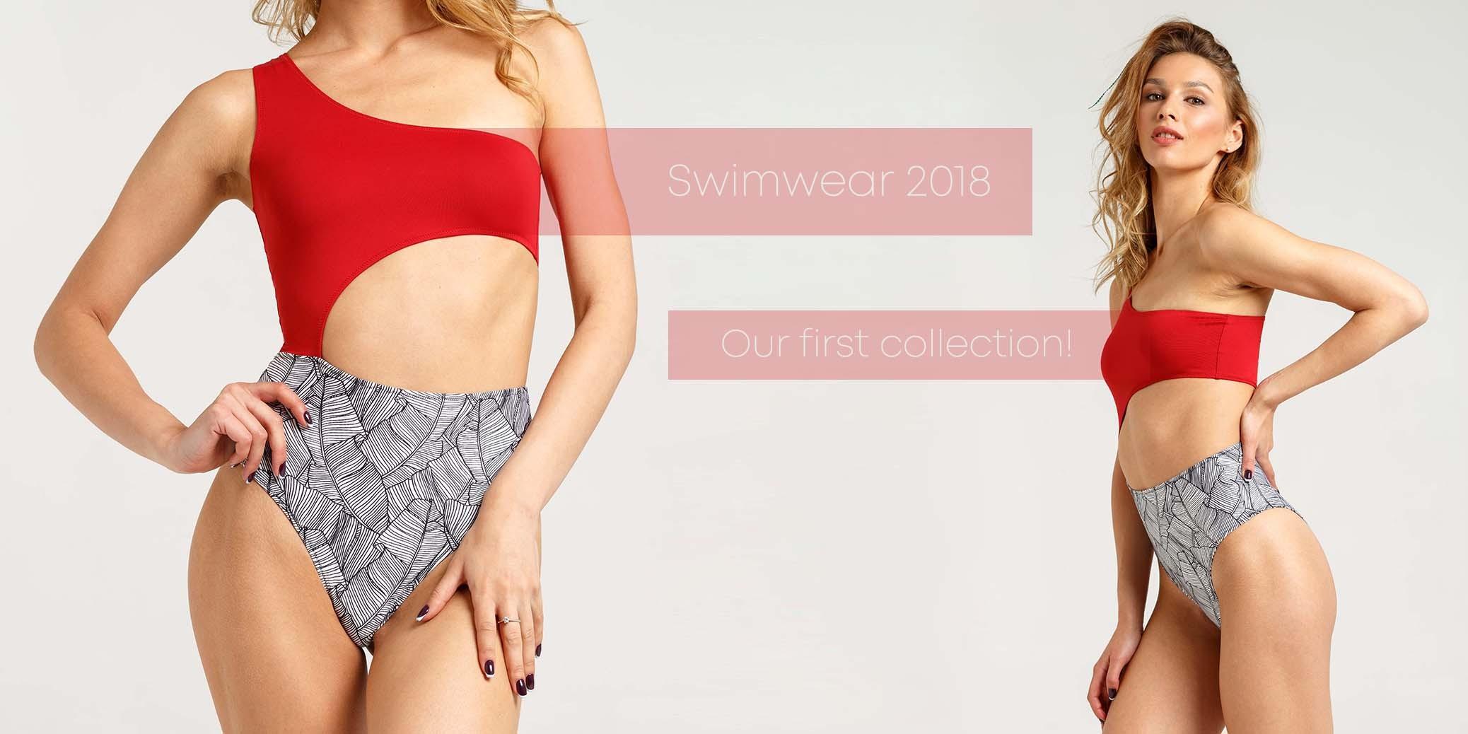 Swimwear lace up